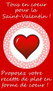 Tous en coeur pour la Saint-Valentin
