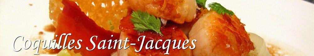 Les meilleures recettes de coquilles saint jacques - Cuisiner les coquilles saint jacques fraiches ...