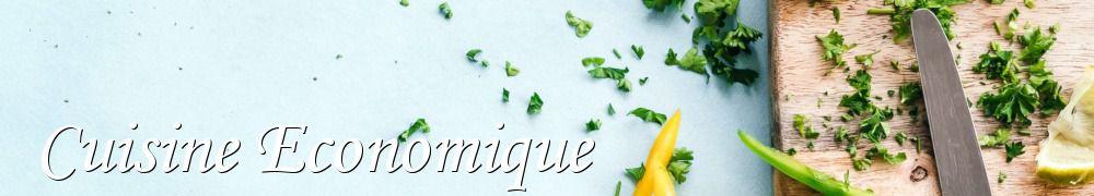 Les meilleures recettes de cuisine economique et riz - Cuisine economique 1001 recettes ...