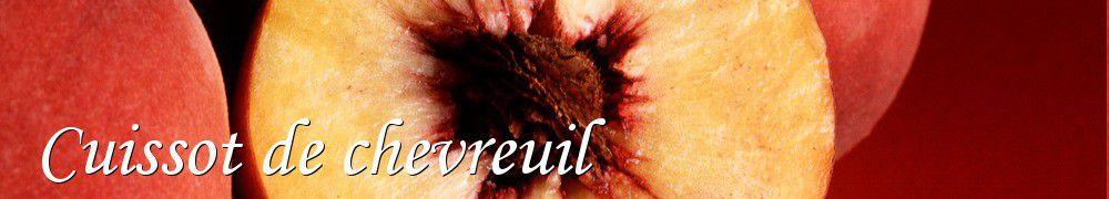 Recettes de cuissot de chevreuil - Cuisiner epaule de chevreuil ...