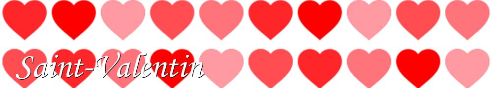 Recettes de Saint-Valentin